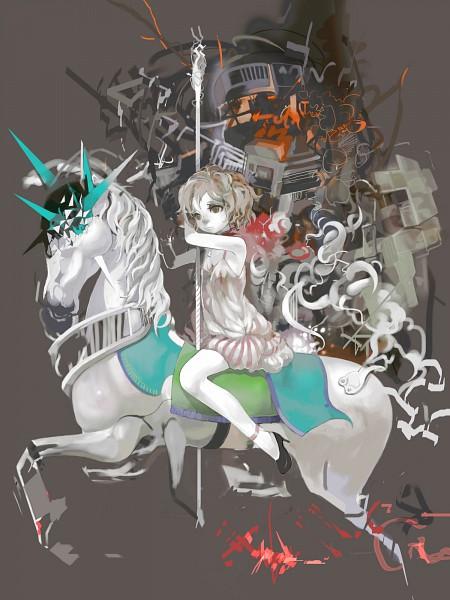 Tags: Anime, Uturo, Carousel, Pixiv, Original