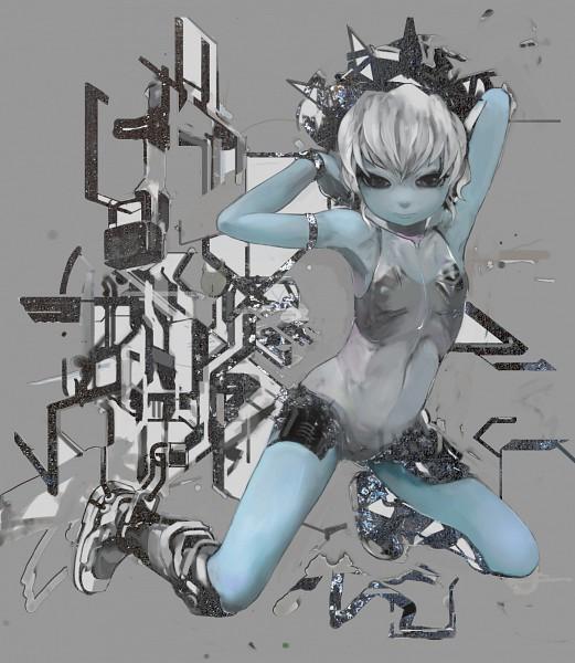 Tags: Anime, Uturo, Pixiv, Original