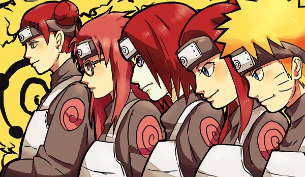 Tags: Anime, Pixiv Id 4519096, NARUTO, Nagato (NARUTO), Uzumaki Naruto, Karin (NARUTO), Uzumaki Kushina, Uzumaki Mito, Fanart From Pixiv, Fanart, Pixiv, Uzumaki Clan