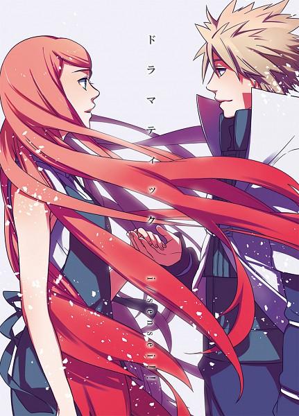 Tags: Anime, Sensei97, NARUTO, Uzumaki Kushina, Namikaze Minato, Mobile Wallpaper, Pixiv, Fanart From Pixiv, Fanart, Uzumaki Family, MinaKushi