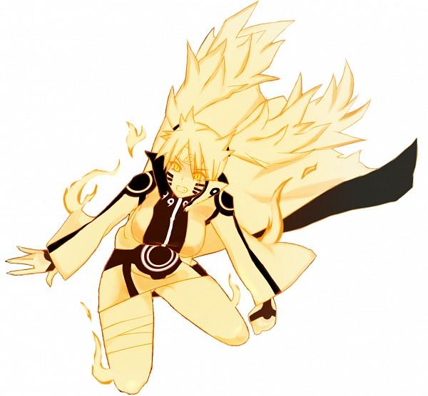 Tags: Anime, Pixiv Id 37143, NARUTO, Uzumaki Naruto, Uzumaki Naruto (Female), Kyuubi Mode, Gold Skin, Bijuu Mode, Jinchuuriki