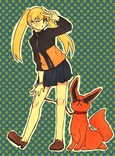 Tags: Anime, Pixiv Id 4519096, NARUTO, Uzumaki Naruto (Female), Uzumaki Naruto, Kyuubi (NARUTO), Tailed Beasts