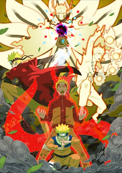 Tags: Anime, Pixiv Id 233268, NARUTO, Uzumaki Naruto, Gold Skin, Kyuubi Mode, Bijuu Mode, Sage Mode, Mobile Wallpaper, Jinchuuriki