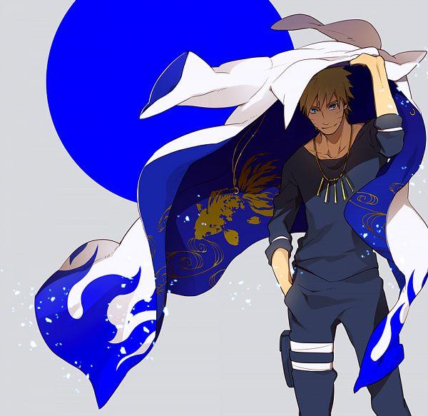 Tags: Anime, Sensei97, NARUTO, Uzumaki Naruto, Namikaze Minato (Cosplay), Fanart From Pixiv, Fanart, Pixiv