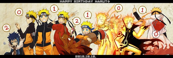 Tags: Anime, Yosakuh, Naruto the Movie: Road to Ninja, NARUTO: SHIPPŪDEN, NARUTO, Uzumaki Naruto, Menma (Naruto The Movie: Road To Ninja), Bijuu Mode, Hokage Outfit, Gold Skin, Kyuubi Mode, Fanart From Pixiv, Fanart