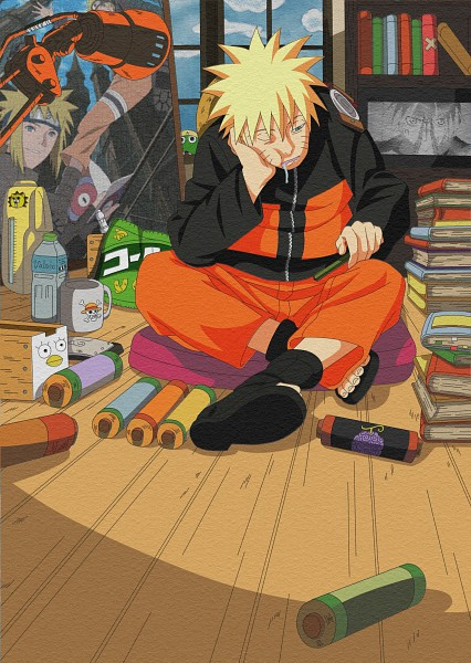 Tags: Anime, Kishimoto Masashi, NARUTO, Uzumaki Naruto, Namikaze Minato, Ko Elizabeth Print, Saliva Trail, Sabber, Vector