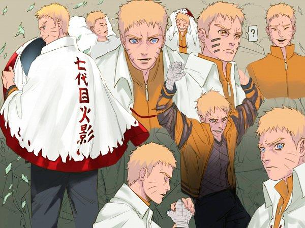 Tags: Anime, Behindxa, BORUTO: Naruto Next Generations, NARUTO, Uzumaki Naruto, Hokage Outfit, Sage Mode, Twitter, Fanart