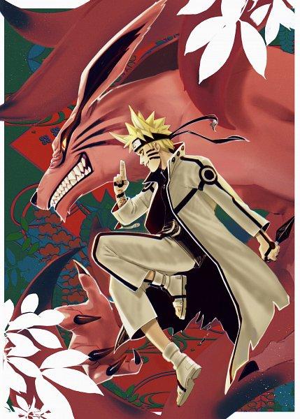 Tags: Anime, Behindxa, NARUTO: SHIPPŪDEN, NARUTO, Kyuubi (NARUTO), Uzumaki Naruto, Kyuubi Mode, Bijuu Mode, Twitter, Fanart