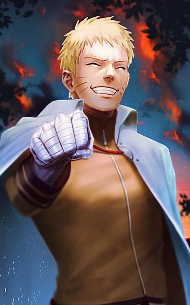 Tags: Anime, Behindxa, BORUTO: Naruto Next Generations, NARUTO, Uzumaki Naruto, Hokage Outfit, Fanart, Twitter