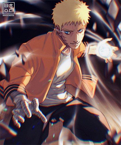 Tags: Anime, Behindxa, BORUTO: Naruto Next Generations, NARUTO, Uzumaki Naruto, Rasengan, Fanart, Twitter