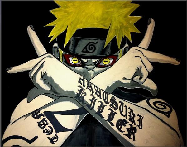 Tags: Anime, NARUTO, Uzumaki Naruto, Sage Mode, Fanart, deviantART, Jinchuuriki