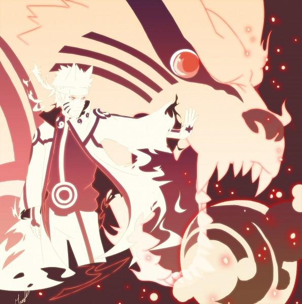 Tags: Anime, Pixiv Id 2408437, NARUTO, Kyuubi (NARUTO), Uzumaki Naruto, Bijuu Mode, Gold Skin, Kyuubi Mode, Fanart, Pixiv, Jinchuuriki