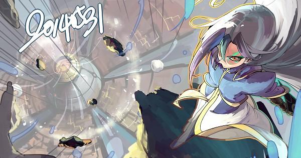 Tags: Anime, Evolution (Pixiv5555486), Yu-Gi-Oh! ZEXAL, Yu-Gi-Oh!, Dyson Sphere, V (Yu-Gi-Oh! ZEXAL), Pixiv, Wallpaper, Fanart From Pixiv, Fanart, Tron Family
