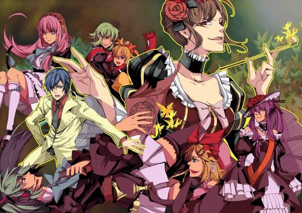 Tags: Anime, Pixiv Id 932774, 07th Expansion, VOCALOID, GUMI, Kagamine Len, Kamui Gakupo, Kagamine Rin, MEIKO (VOCALOID), Megurine Luka, Hatsune Miku, Hatsune Mikuo, KAITO