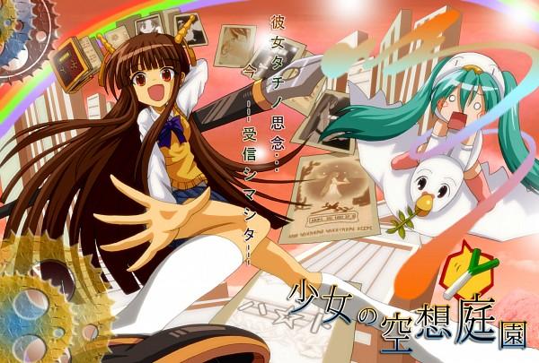 Tags: Anime, Dr. Cryptoso, VOCALOID, Hachune Miku, Hatsune Miku, O O, The Girl's Fantastic Garden, cosMo-p, The Fantastic Garden, Official Derivatives