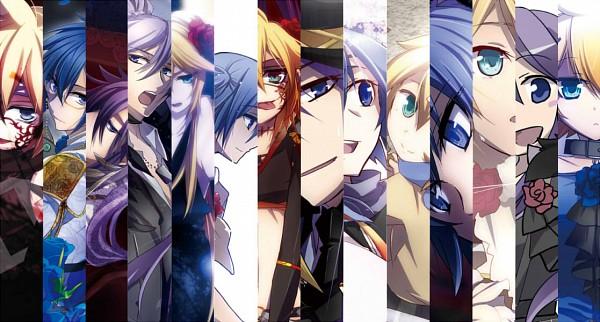 Tags: Anime, Haru Aki, VOCALOID, KAITO, Kagamine Len, Kamui Gakupo, Room 13943, Fanart From Pixiv, Natsu-p, Loveless×××, SCL Project, Pixiv, Facebook Cover