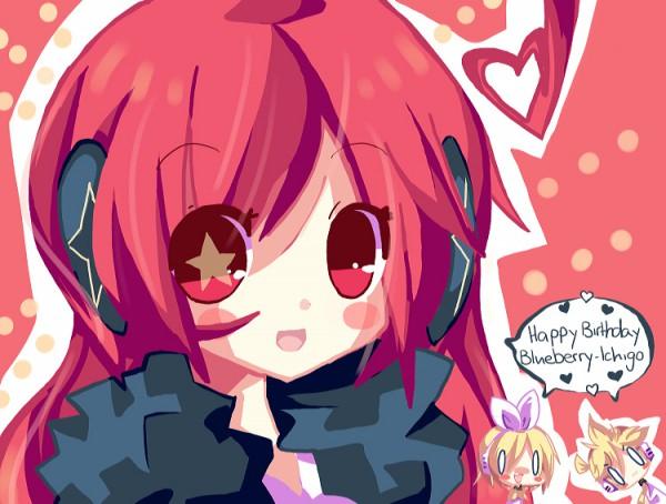 Tags: Anime, VOCALOID, Kagamine Rin, SF-A2 miki, Kagamine Len, Artist Request, Fanart