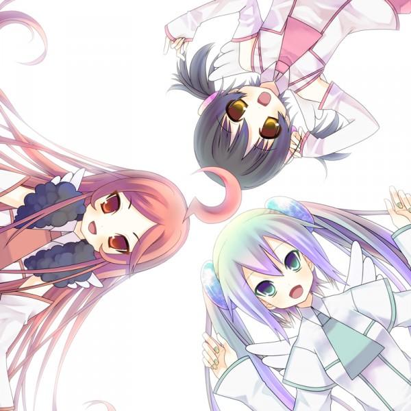 Tags: Anime, Tahya, VOCALOID, SF-A2 miki, Hatsune Miku, Kaai Yuki, Platinum Romance, Pixiv