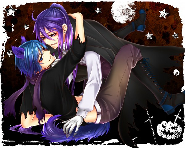 Tags: Anime, Pixiv Id 5134110, VOCALOID, Kamui Gakupo, KAITO, Vampire Costume