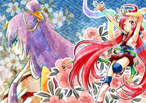 Tags: Anime, Tatsuri, VOCALOID, Kamui Gakuko, SF-A2 miki, Megurine Luka, Uzume'S Kagura-dance, Artist Request