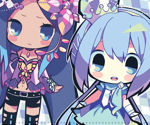 Tags: Anime, Maako, VOCALOID, Merli, Aoki Lapis, Fanart