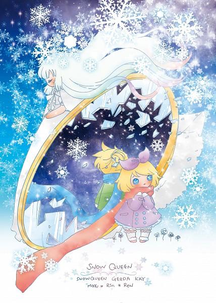 Tags: Anime, Pixiv Id 3794154, VOCALOID, MAYU (VOCALOID), Kagamine Len, Kagamine Rin, Mobile Wallpaper