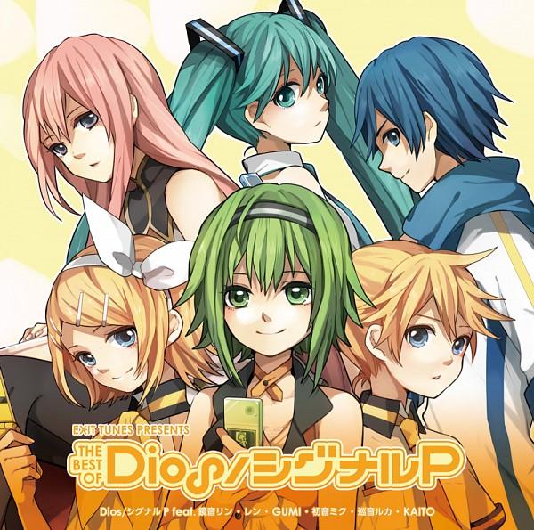 Tags: Anime, Tama Songe, VOCALOID, GUMI, Megurine Luka, KAITO, Hatsune Miku, Kagamine Len, Kagamine Rin, Jovankalau, CD (Source)