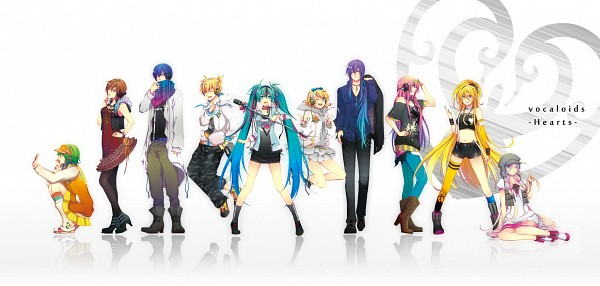 Tags: Anime, Domco, VOCALOID, MEIKO (VOCALOID), Lily (VOCALOID), Megurine Luka, Hatsune Miku, KAITO, IA, GUMI, Kagamine Len, Kamui Gakupo, Kagamine Rin