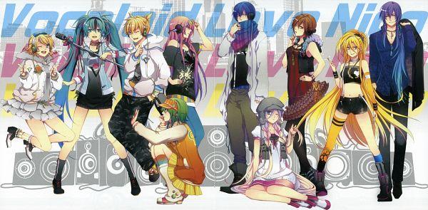 Tags: Anime, Domco, VOCALOID, Kamui Gakupo, Kagamine Len, IA, MEIKO (VOCALOID), Kagamine Rin, Lily (VOCALOID), Megurine Luka, Hatsune Miku, GUMI, KAITO