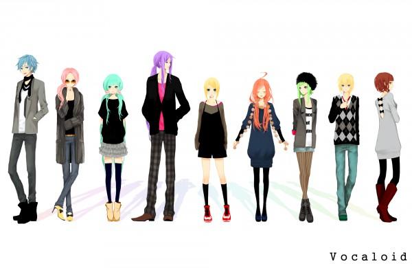 Tags: Anime, Coma (Fginiy), VOCALOID, Hatsune Miku, KAITO, GUMI, Kagamine Len, Kamui Gakupo, Kagamine Rin, MEIKO (VOCALOID), SF-A2 miki, Megurine Luka, Pixiv