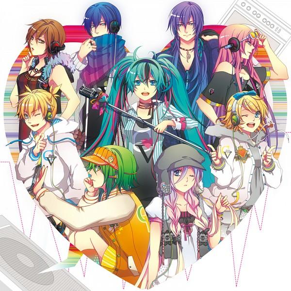 Tags: Anime, Domco, VOCALOID, Megurine Luka, Hatsune Miku, KAITO, GUMI, Kagamine Len, IA, Kamui Gakupo, Kagamine Rin, MEIKO (VOCALOID), Pixiv