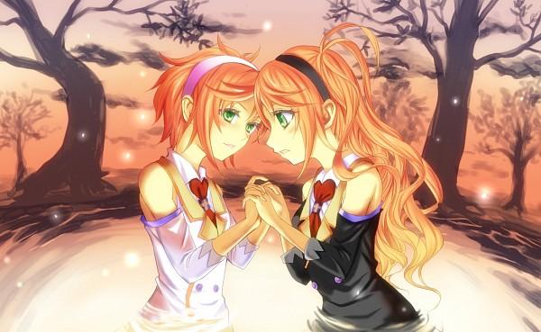 Tags: Anime, Pixiv Id 2048666, VOCALOID, Kanon (VOCALOID), Anon (VOCALOID)