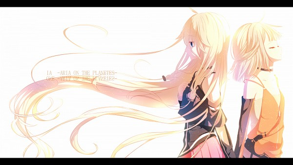 Tags: Anime, jun4674099, VOCALOID, ONE (CeVIO), IA, Facebook Cover, Pixiv, Fanart, Fanart From Pixiv
