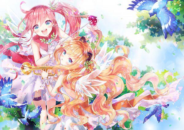 Tags: Anime, zenyu, VOCALOID, UNI (VOCALOID), SeeU, Trombone