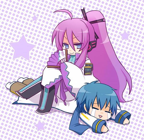 Tags: Anime, VOCALOID, KAITO, Kamui Gakupo