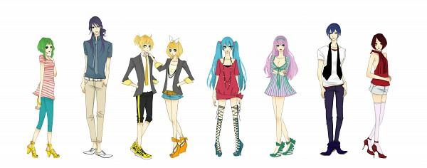 Tags: Anime, Shiro Neko, VOCALOID, Megurine Luka, Hatsune Miku, KAITO, GUMI, Kagamine Len, Kamui Gakupo, Kagamine Rin, MEIKO (VOCALOID), Facebook Cover
