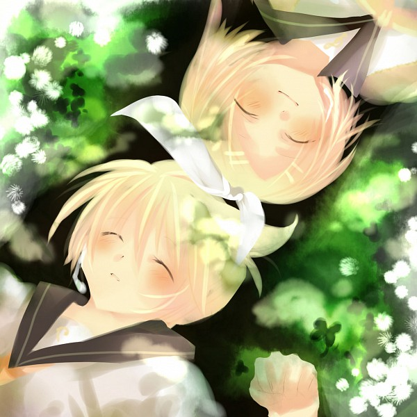 Tags: Anime, Moetora, VOCALOID, Kagamine Len, Kagamine Rin, Kagamine Mirrors