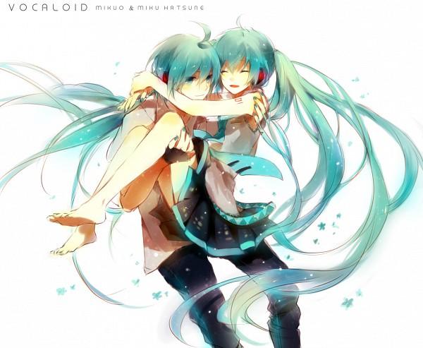 Tags: Anime, I-riya, VOCALOID, Hatsune Miku, Hatsune Mikuo, Pixiv, Fanart