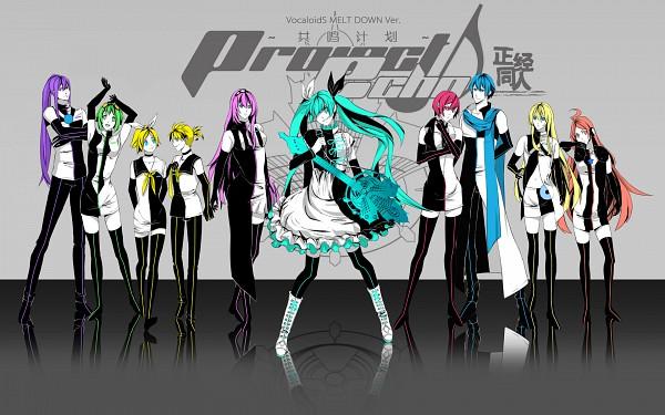 Tags: Anime, Tennet, VOCALOID, SF-A2 miki, Megurine Luka, KAITO, Hatsune Miku, GUMI, Kagamine Len, Lily (VOCALOID), Kamui Gakupo, Kagamine Rin, MEIKO (VOCALOID)