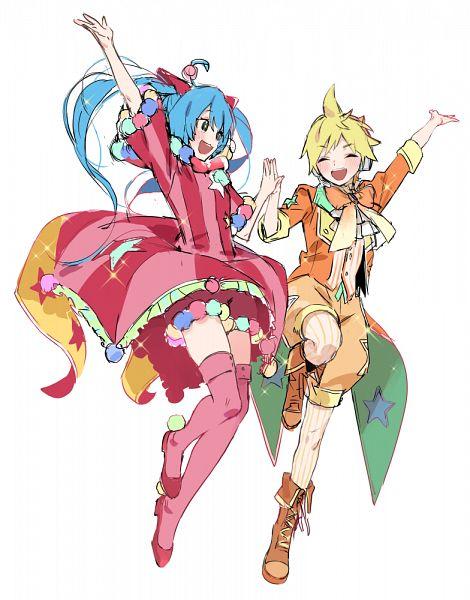 Tags: Anime, Pixiv Id 33254587, Project Sekai Colorful Stage! feat. Hatsune Miku, VOCALOID, Hatsune Miku, Kagamine Len, Fanart From Pixiv, Fanart, Pixiv