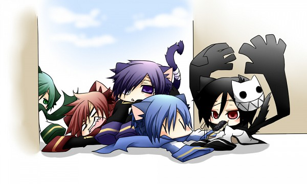 Tags: Anime, Pixiv Id 751828, VOCALOID, NIGAITO, Kageito, AKAITO, KAITO, Taito, Fanart, Pixiv, Yandereloid
