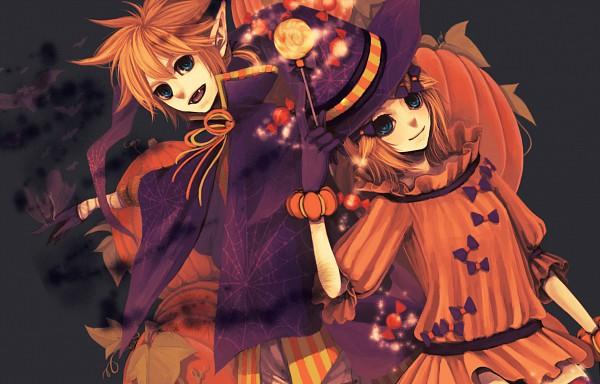 Tags: Anime, VOCALOID, Kagamine Len, Kagamine Rin, Artist Request, Kagamine Mirrors