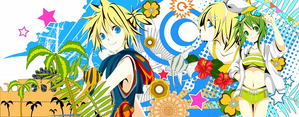 Tags: Anime, VOCALOID, Kagamine Len, Kagamine Rin, GUMI, Artist Request