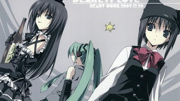Tags: Anime, Suzuhira Hiro, VOCALOID, Hatsune Miku, Facebook Cover