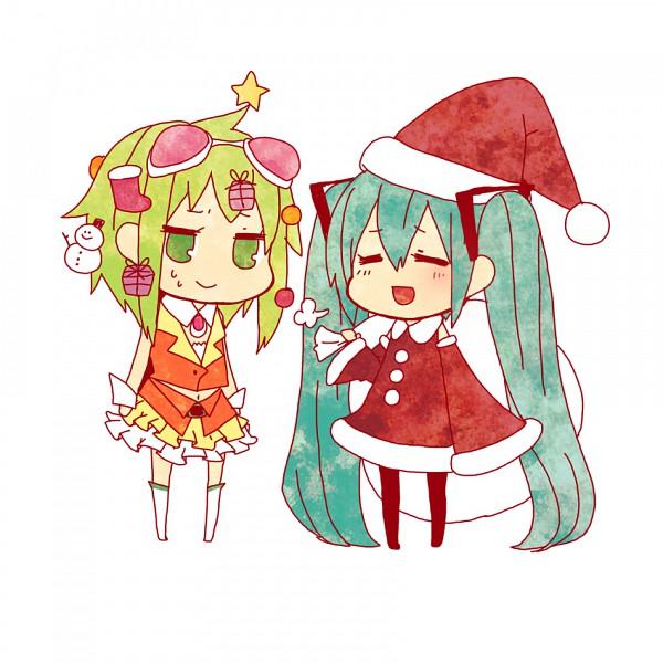 Tags: Anime, Niwako, VOCALOID, GUMI, Hatsune Miku