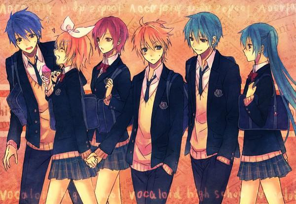 Tags: Anime, Mg (Pixiv4935063), VOCALOID, MEIKO (VOCALOID), Hatsune Miku, KAITO, Kagamine Len, Hatsune Mikuo, Kagamine Rin, Pixiv