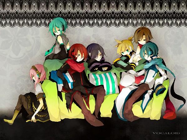 Tags: Anime, Sabutarou, VOCALOID, MEIKO (VOCALOID), Taito, Megurine Luka, Hatsune Miku, Hatsune Mikuo, KAITO, MEITO, Kagamine Len, AKAITO, Megurine Luki