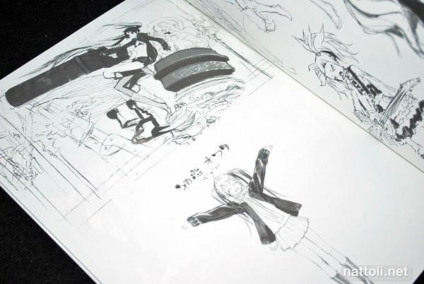 Tags: Anime, Miwa Shirow, Black★Rock Shooter, VOCALOID, Kagamine Rin, Black★Rock Shooter (Character), Hatsune Miku, Roshin Yuukai, Hajimete no Koi ga Owaru Toki
