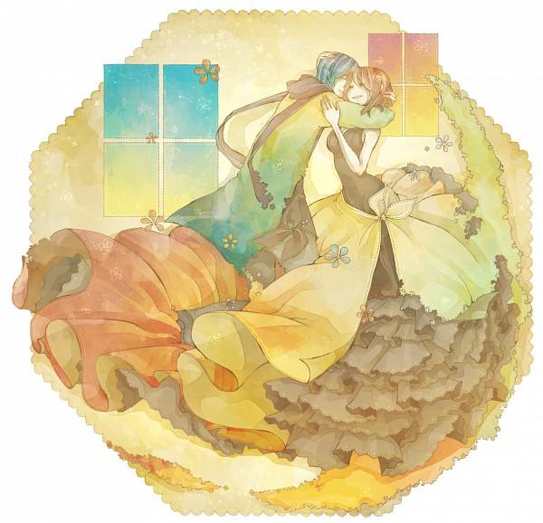 Tags: Anime, Mizutamari Tori, VOCALOID, MEIKO (VOCALOID), KAITO, Pixiv