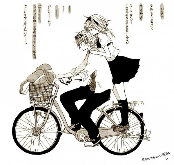 Tags: Anime, An (Pixiv1170947), VOCALOID, GUMI, GUMO, Pixiv, DECO*27, Fanart